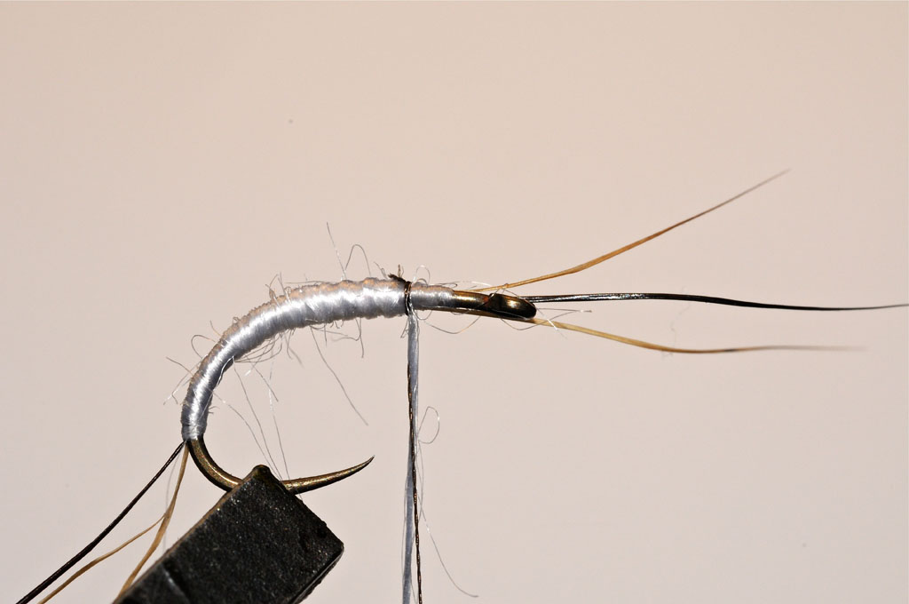 3. Create an underbody with thread floss