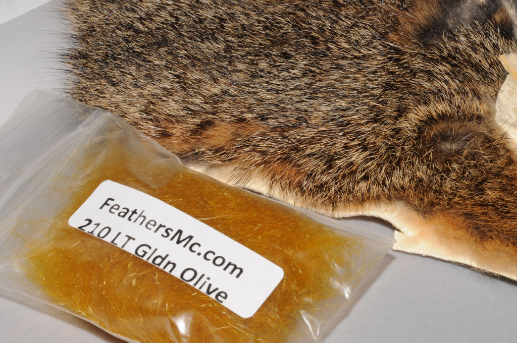 10. Take some golden seal fur substitute and natural squirrel