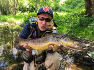 A crazy story about a big trout !